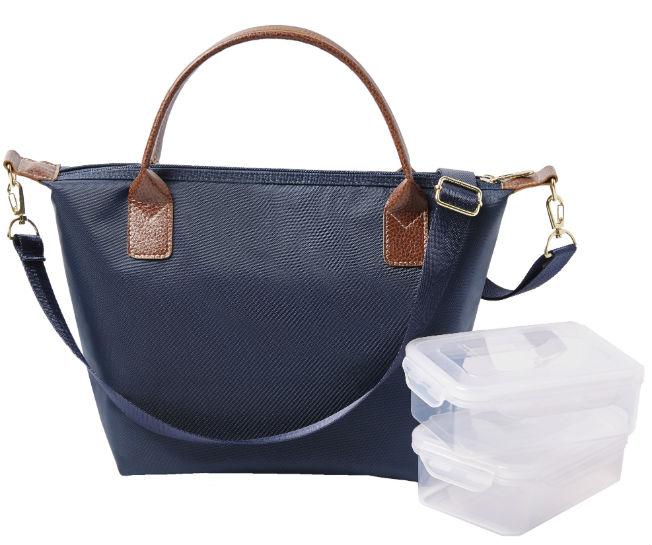 Bolso de interior isotérmico para llevar comida y tuppers con estilo