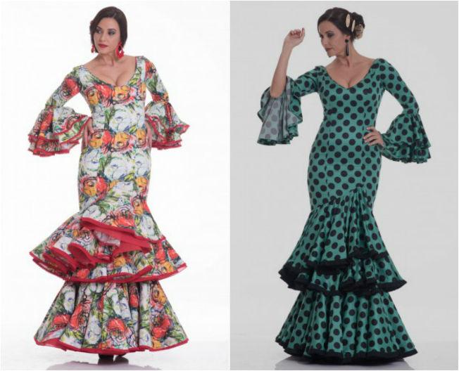 Trajes de flamenca baratos de Micaela Villa