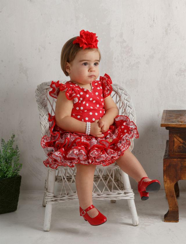 Moda flamenca infantil de Mi Bebesito