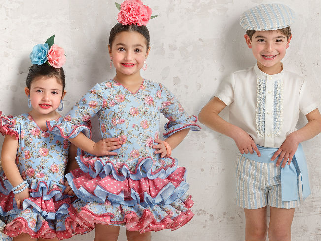 Moda Flamenca Infantil El Reto De Vestir A Niños Niñas Y