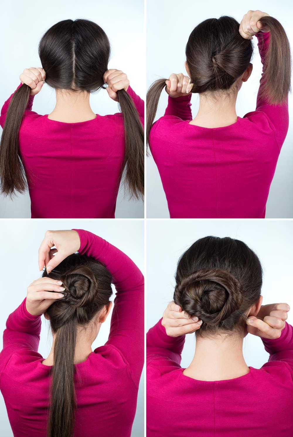 Peinados faciles para vestirse de flamenca