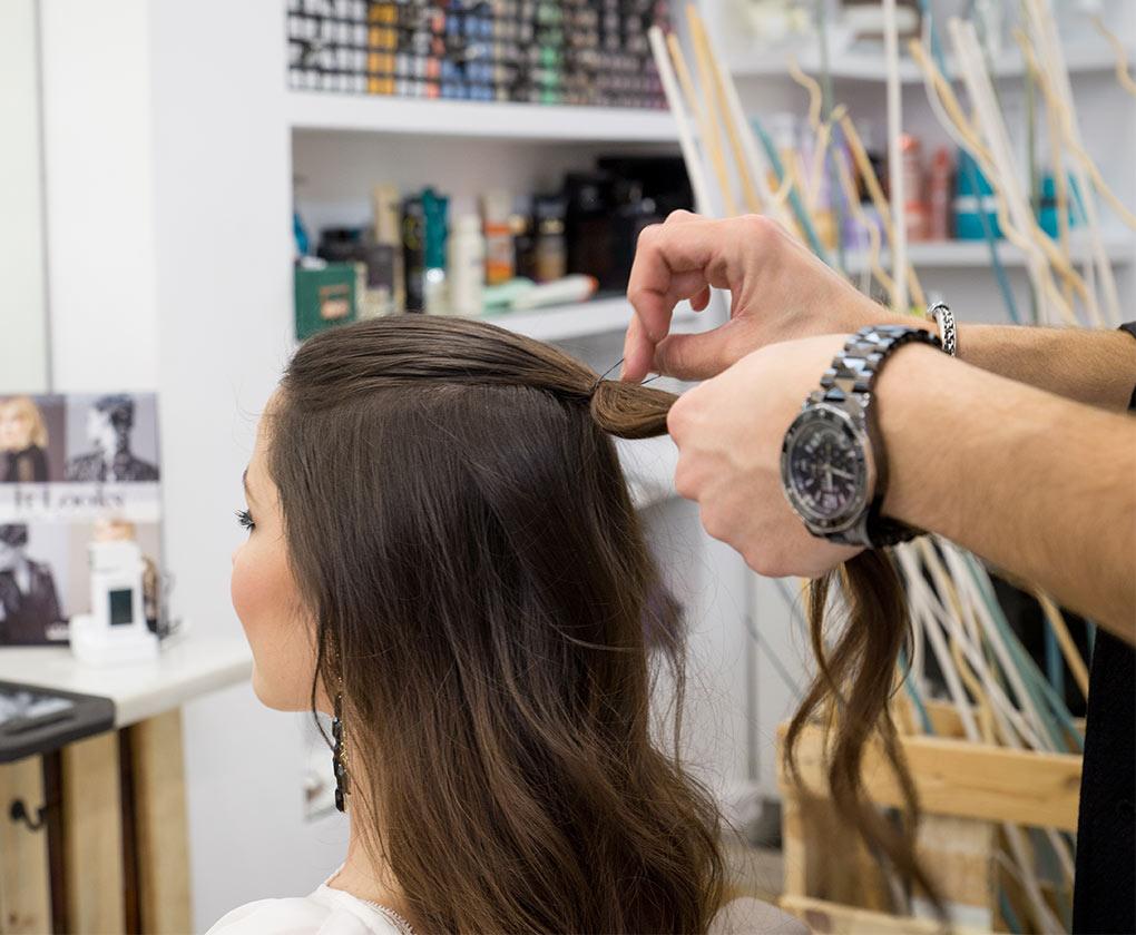 Ideas de peinados de flamenca: falsa trenza, paso a paso (Foto: Laura Álvarez)