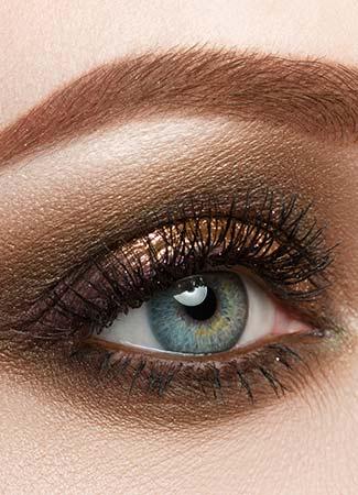 Sombras para ojos azules