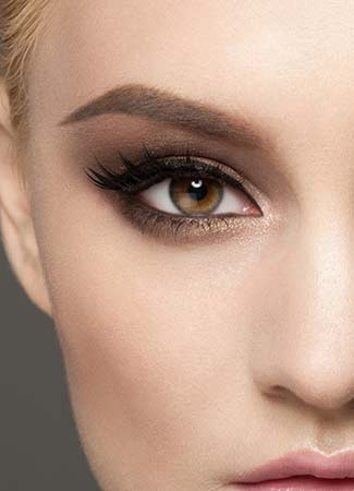 Sombras para ojos marrones