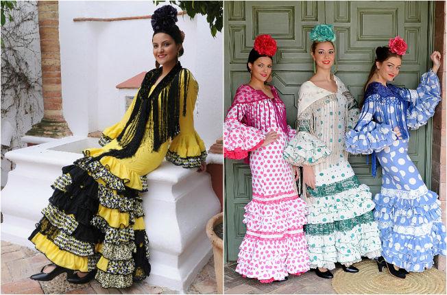 Trajes de flamenca baratos de Molina Moda Flamenca