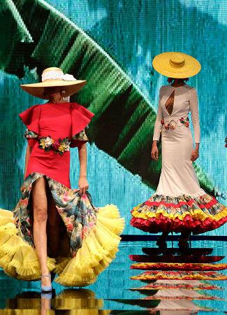 Cinturón de flamenca de Patricia Bazarot