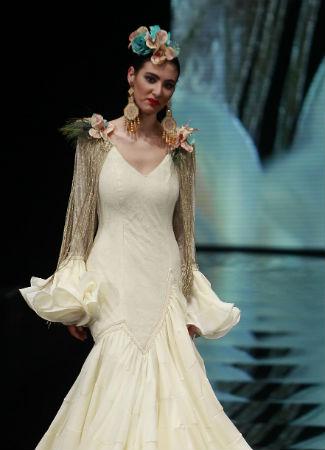 Hombreras de flamenca de Carmen Romero