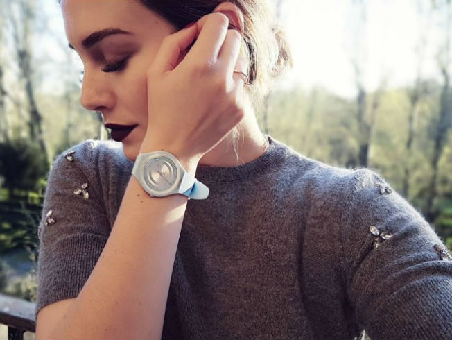 Maquillaje de labios negros como Blanca Suárez. Instagram