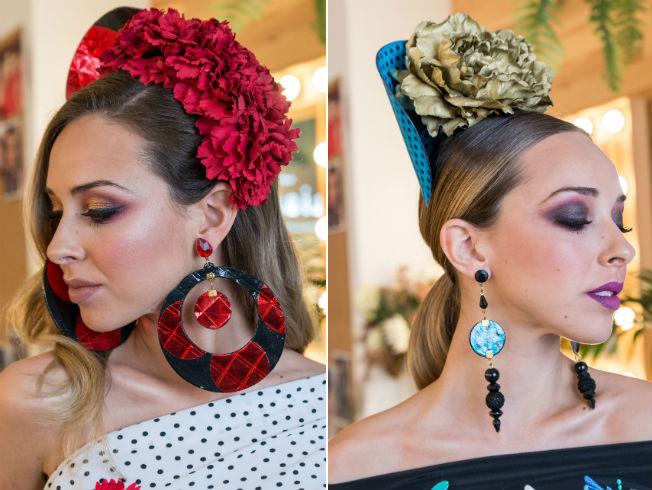 Maquillaje de flamenca para ir a la feria de abril