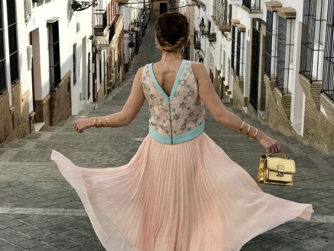 María José Personal Shopper con un look dulce y romántico