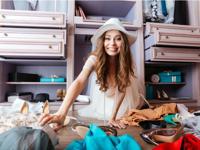 Consejos para ordenar y cambiar de armario