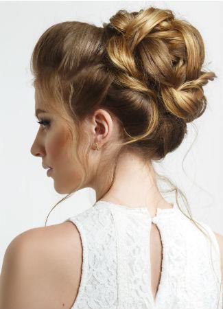 10 peinados de novia de tendencia en 2017 bulevar sur for Recogidos altos para novias