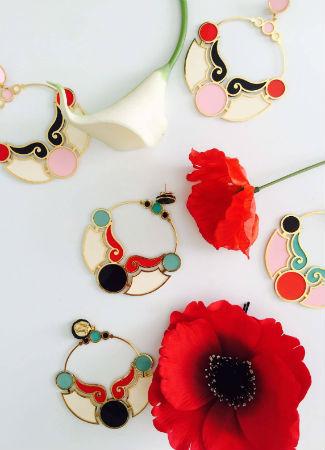Pendientes de flamenca de Enrique de la Flor