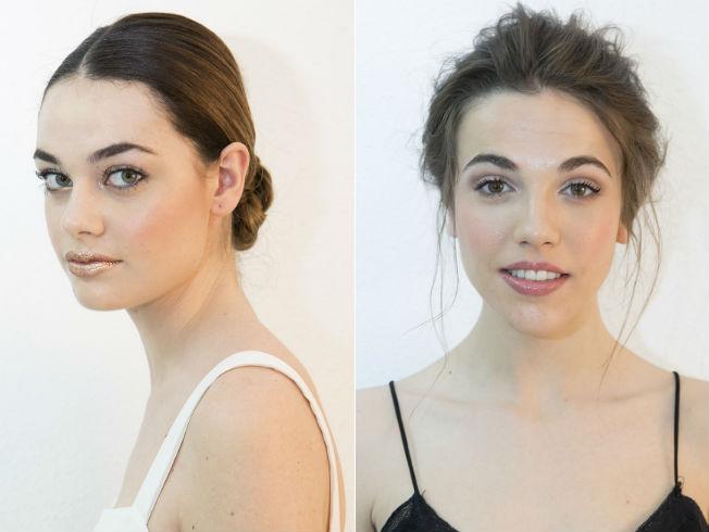 Tendencias de maquillaje para novias de 2017 de la pasarela Atelier Couture