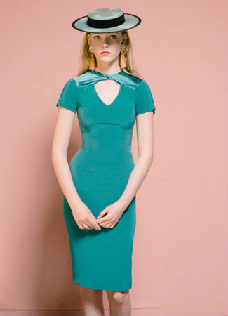 Vestido de invitada perfecta de Cherubina