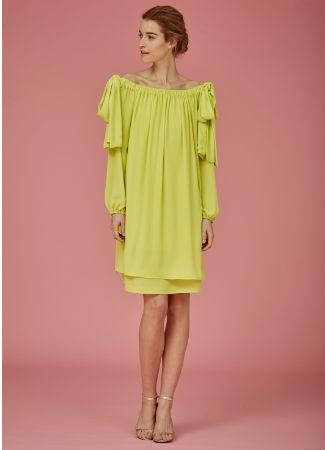 Vestido verdelima de Coosy