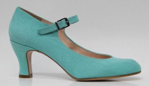 Zapato de flamenca de Roberto Garrudo