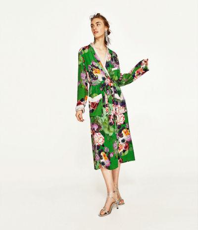 Cómo llevar el kimono largo