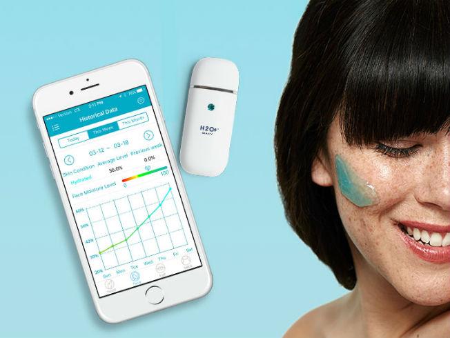 Medidor de la hidratación de la piel