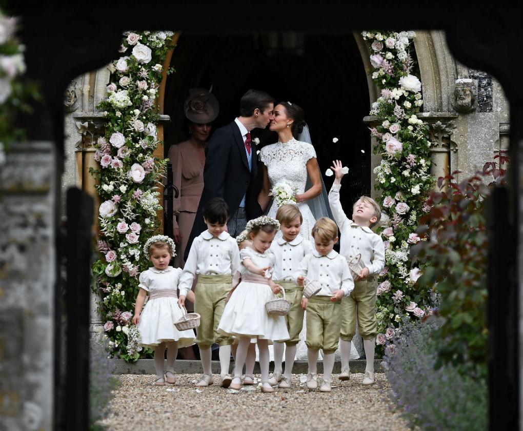 Pepa & Co es la firma de la diseñadora malagueña que viste a los niños de la realeza británica