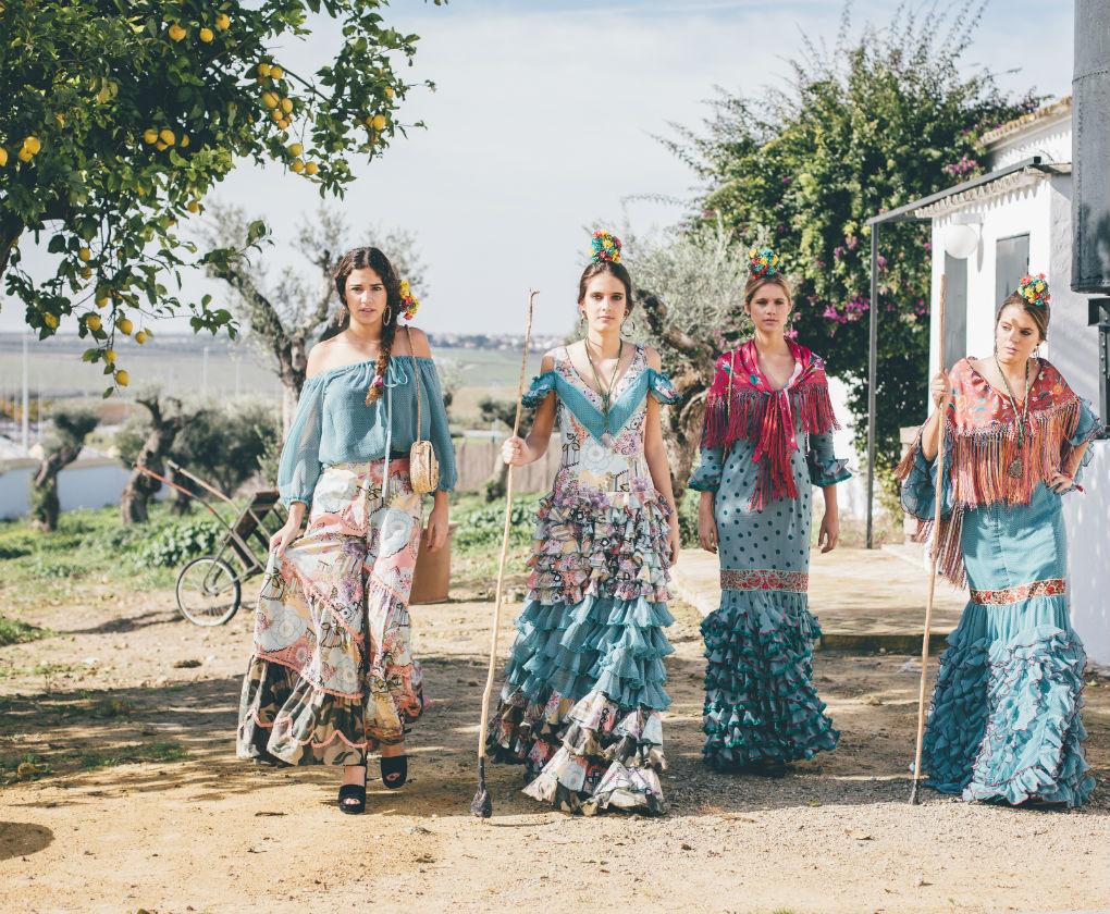 Flamencas rocieras de Pol Núñez