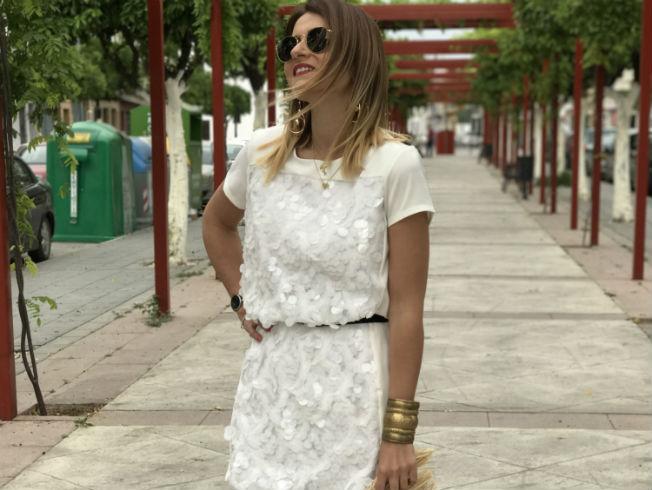 Vestido blanco para lucir esta temporada