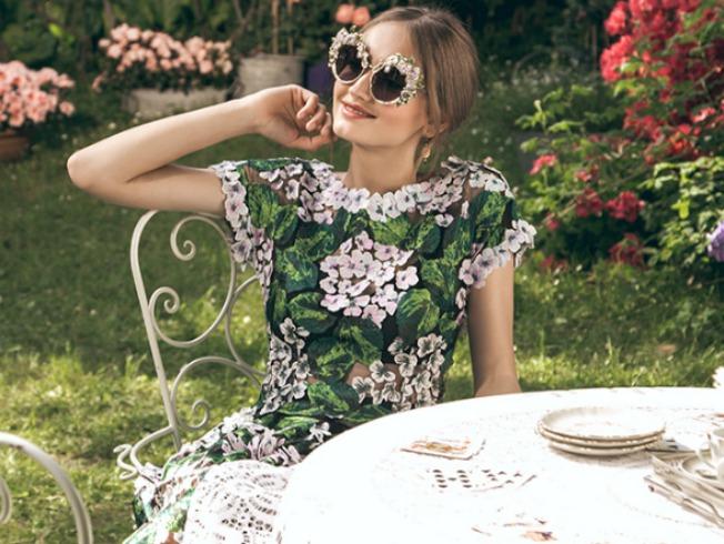 Gafas de sol de la colección Hortensia de Dolce & Gabbana