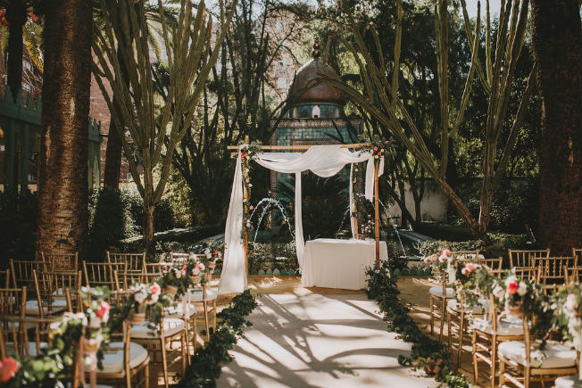 Tendencias de decoración de bodas
