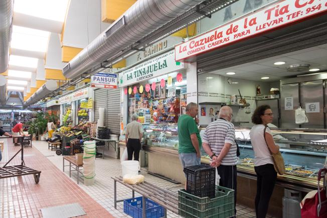 Mercado del Tiro de Línea en Sevilla