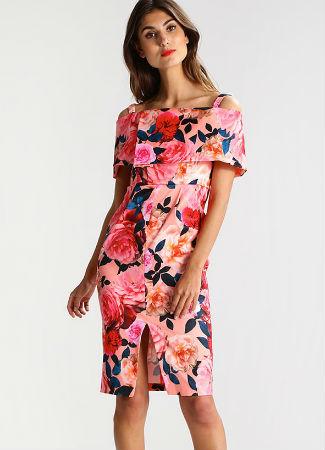 Vestido floral de Dorothy Perkins