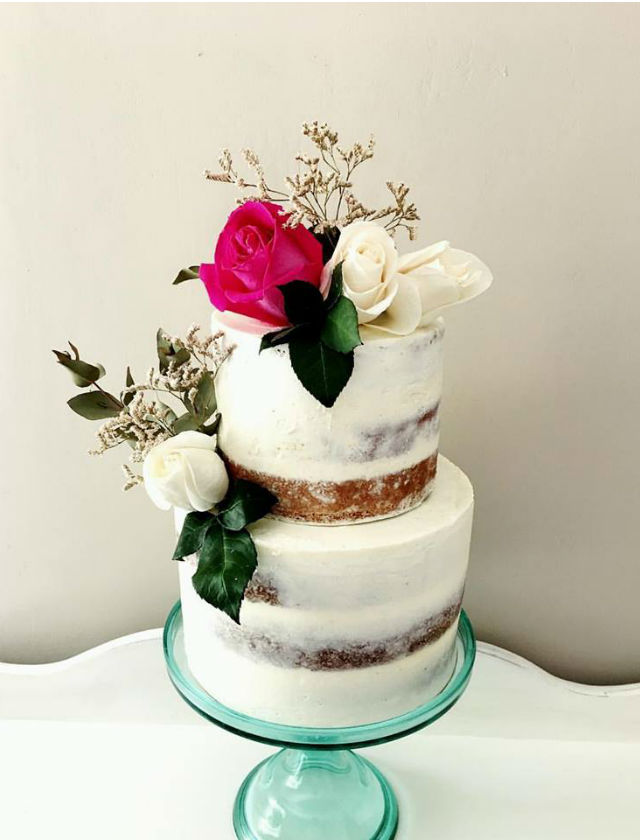 Tarta de boda de Aquarela Cakes. Foto: Aquarela Cakes