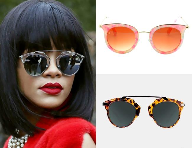 Las gafas de sol que más favorecen a rostros triangulares