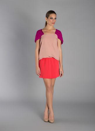 Vestido corto de Rental Mode