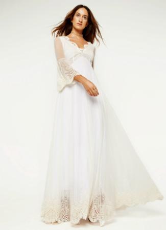 Vestidos de novia boda ibicenca