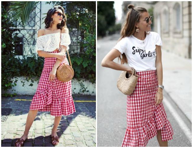 La falda de Zara que llevan Bartabac y Soraya