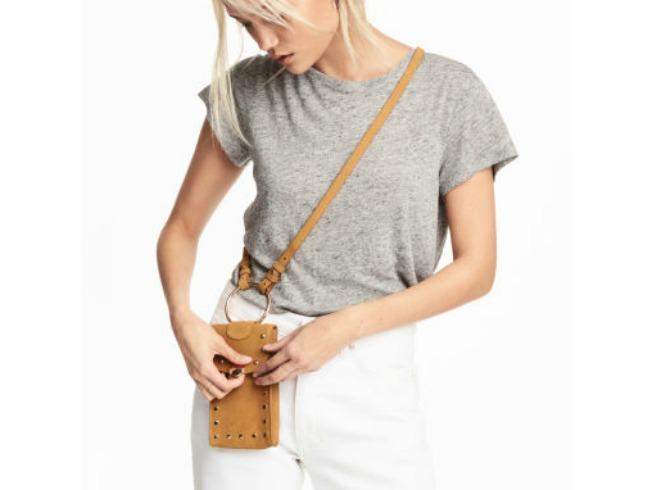 Minibolso para guardar el móvil de H&M