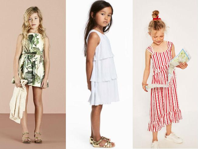 Vestidos de tendencia para niñas este verano 2017