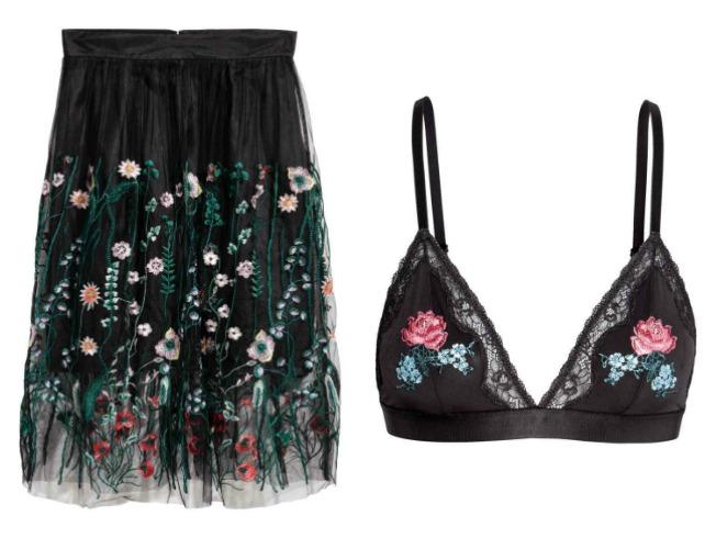 Top y falda de H&M