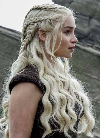 Las trenzas de Daenerys Targaryen
