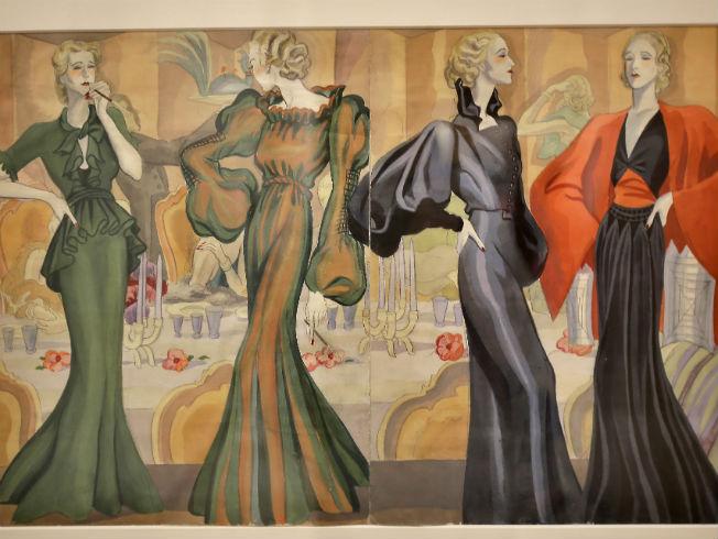 Exposición La elegancia del dibujo de Carlos Sáenz de Tejada