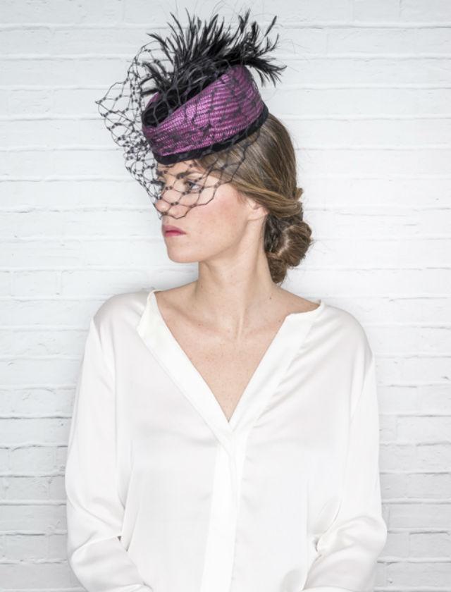 Sombreros, pamelas y tocados de Nana Golmar