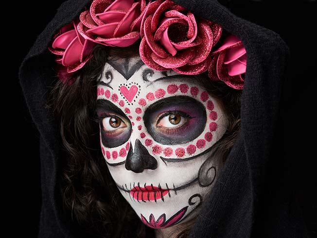 Ideas de maquillaje para Halloween 2017