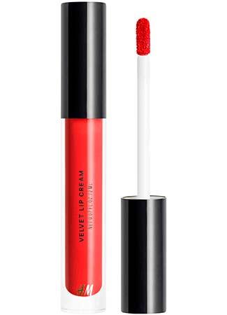 Velvet lip cream de H&M