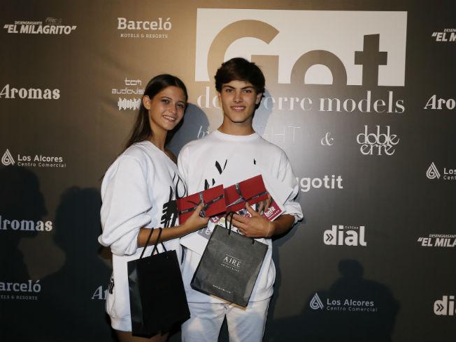 Ana y Carlos, ganadores del primer Got Dobleerre Models. Foto: Chema Soler