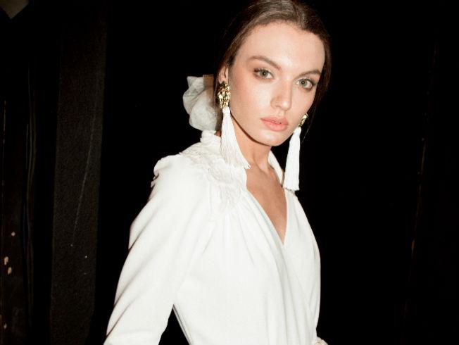 Desfile de Cherubina con la colección de novias 2018 «Le Beau Monde» en la Pasarela New Models. Foto: Juan Delgado