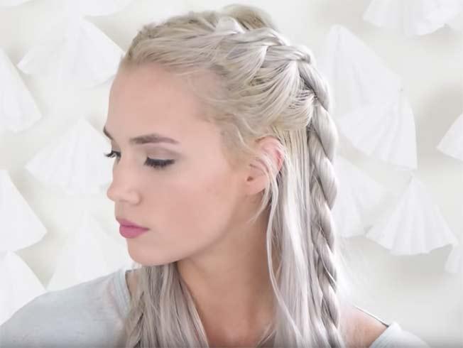 Seis tutoriales de peinado inspirados en Khaleesi