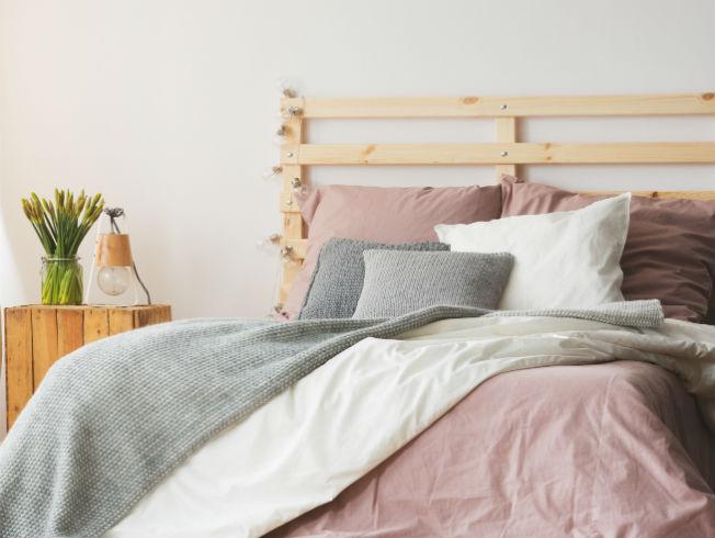 Decoración de la cama