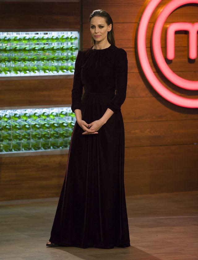 Eva González en la final de Masterchef Celebrity 2. Foto: Masterchef