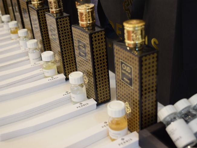 Cata olfativa de Perris Monte Carlo en Cosmeceutical Center en Sevilla. Foto: Relier Comunicación