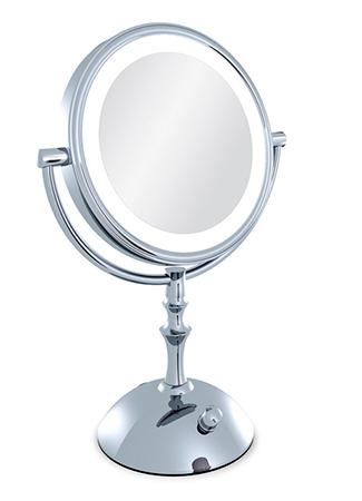 espejo luz maquillaje